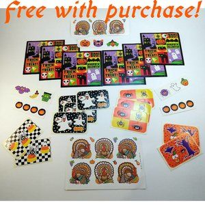Halloween / Fall Stickers Free with Purchase